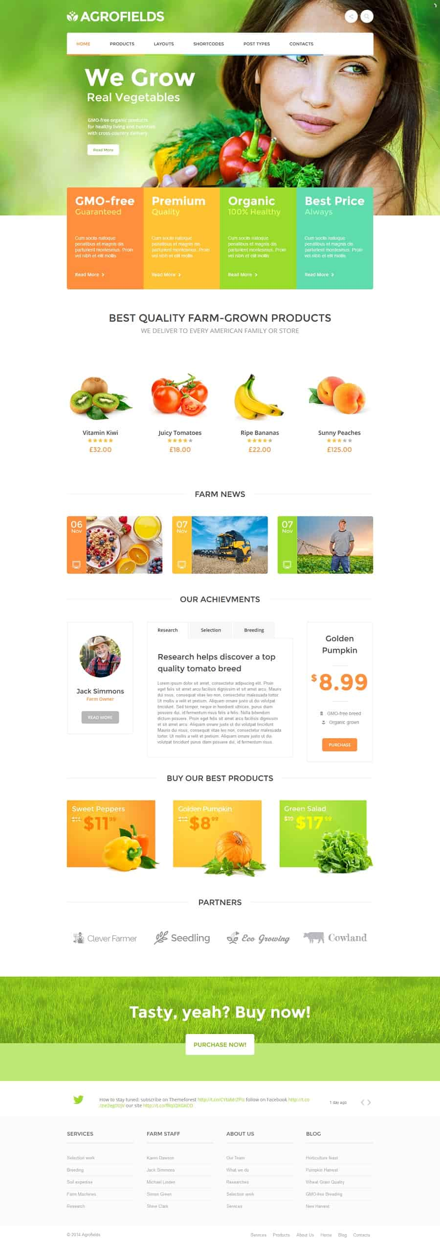 best organic wordpress theme
