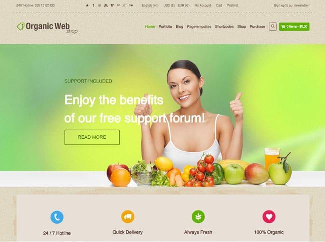 organic-web-shop