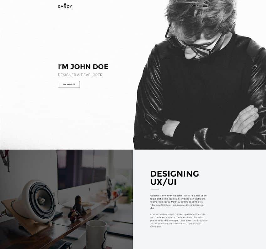 creative unique wordpress theme