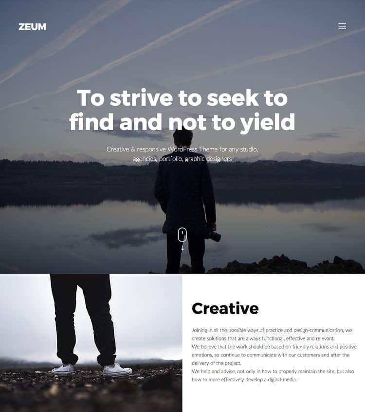 simple wordpress theme