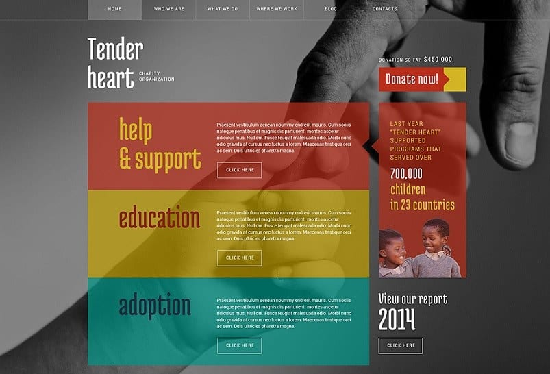 55 Best Charity WordPress Themes 2018 (UPDATED) - WebCreate.Me