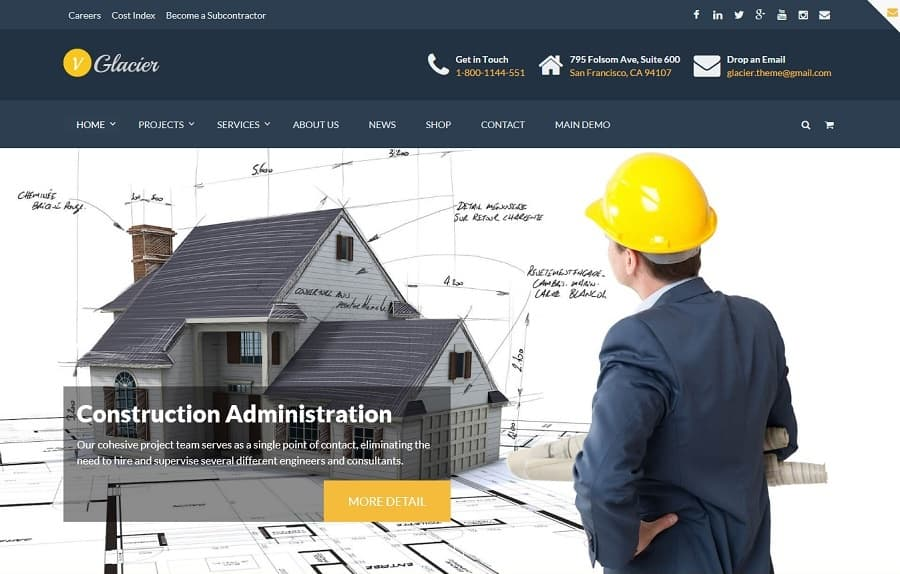 Best Construction WordPress Themes (2018 UPDATED)