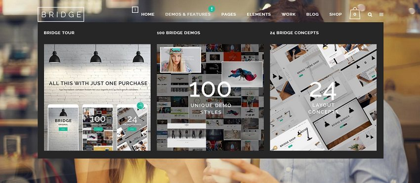 Bridge Creative Multi Purpose WordPress Theme