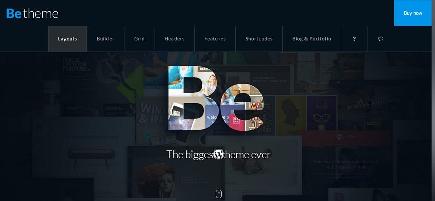 betheme - universal business theme