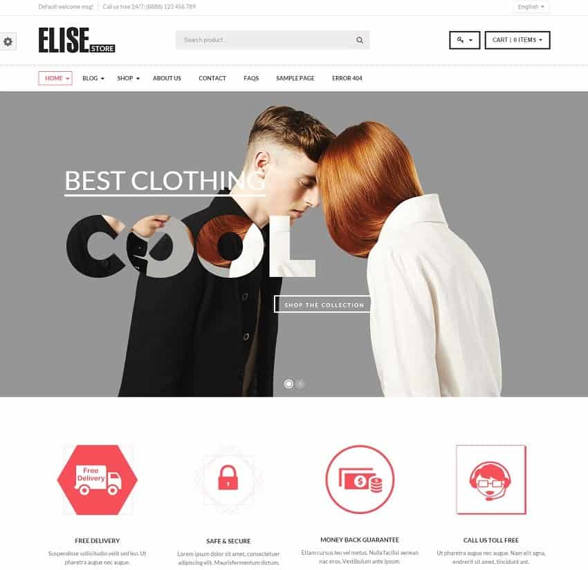 30+ WordPress eCommerce Themes | Best of 2017