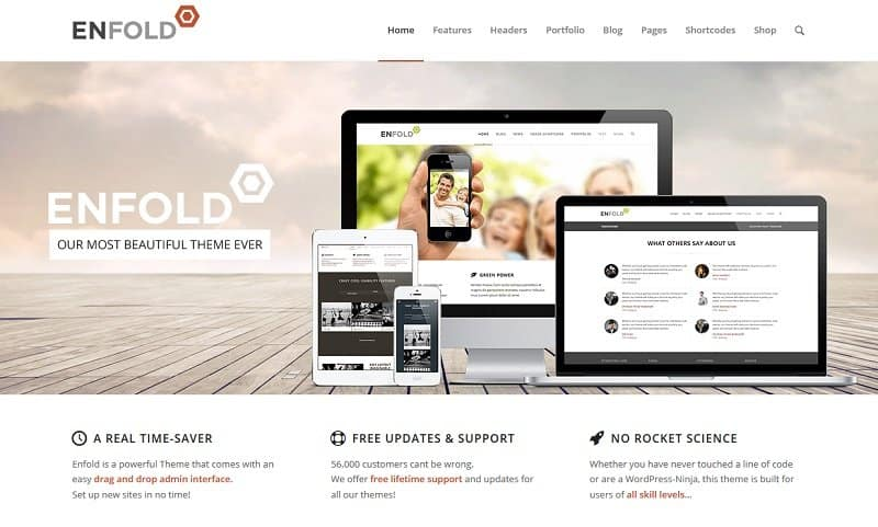 55 best business wordpress themes of 2018 updated best business wordpress themes accmission Images