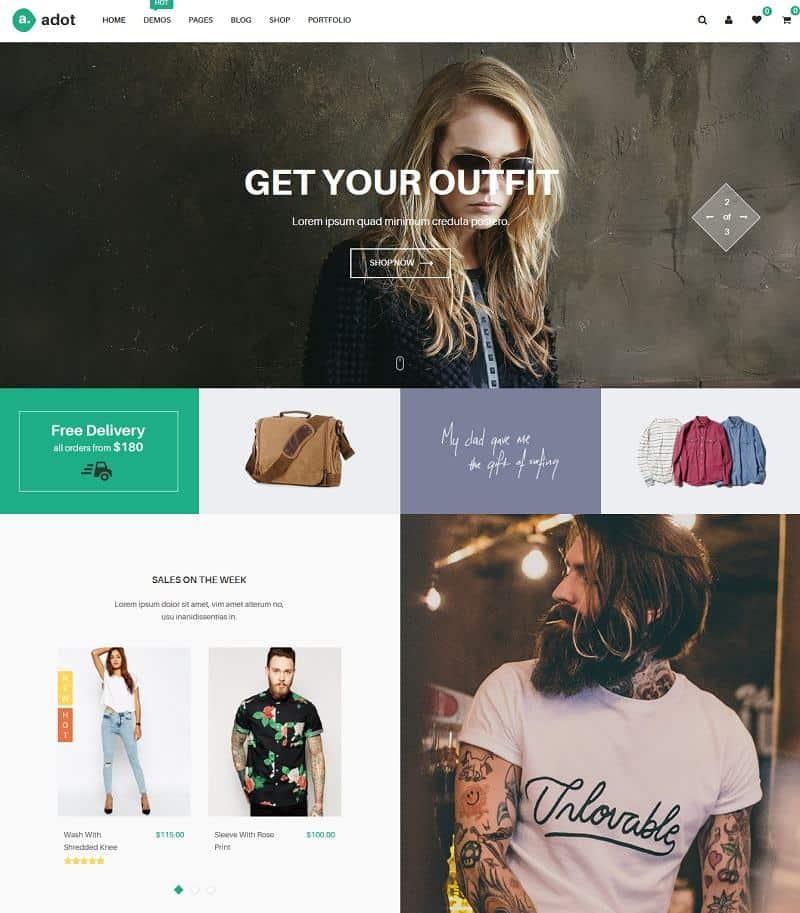 adot ecommerce wordpress theme
