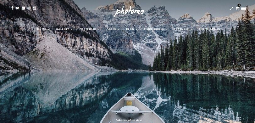 best wordpress theme for photographers 2015