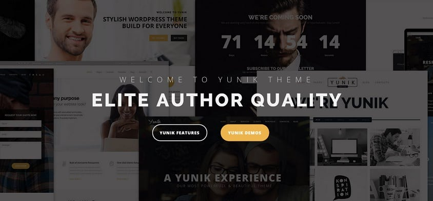 simple template for wordpress
