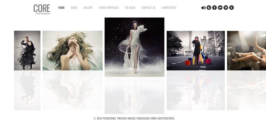 minialist photography portfolio