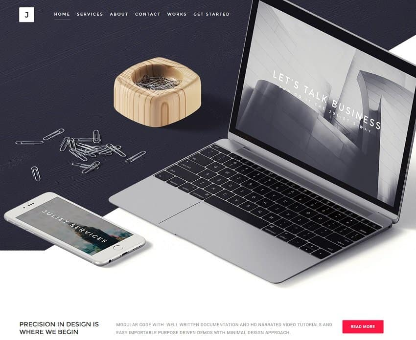 businesss wordpress theme