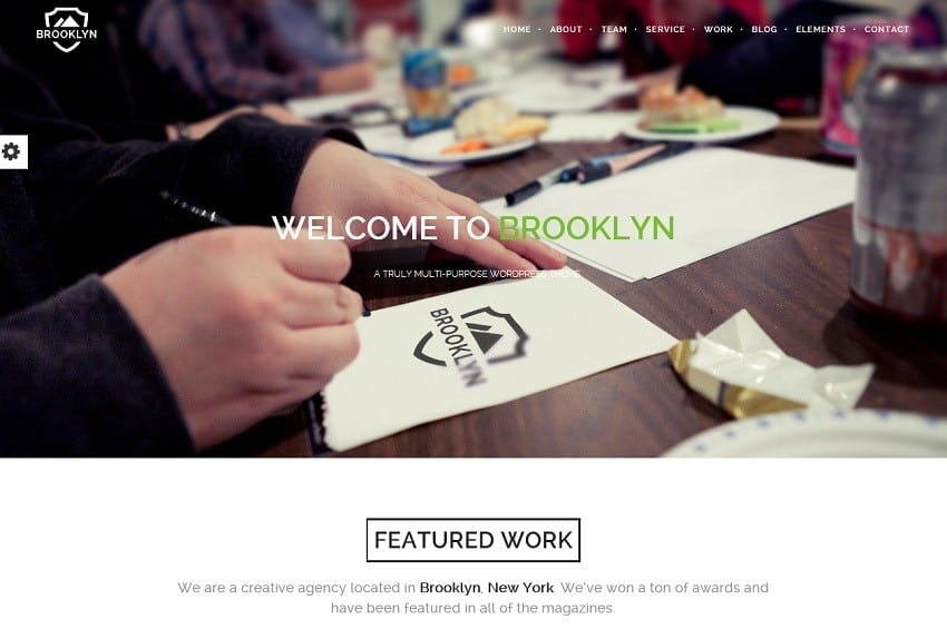 bestselling onepage wordpress theme