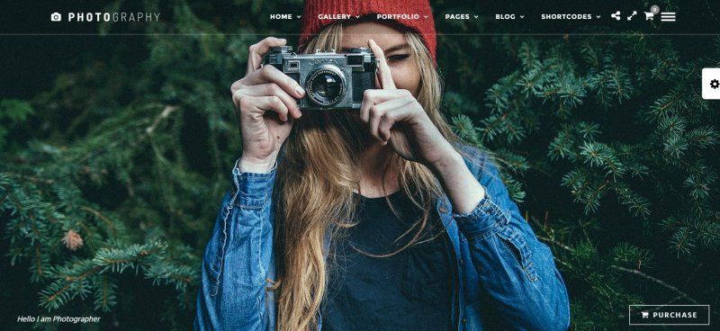 Best Photography WordPress Themes Best Of UPDATED - Blogger photography templates professional