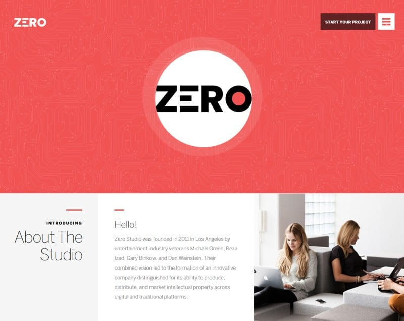 Zero Theme – Creative WordPress Theme