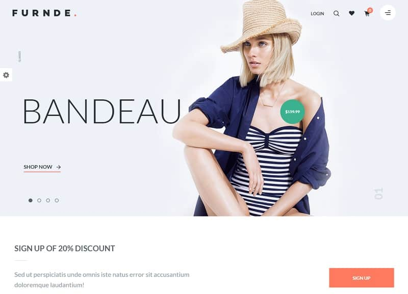 furnde ecommerce wp theme