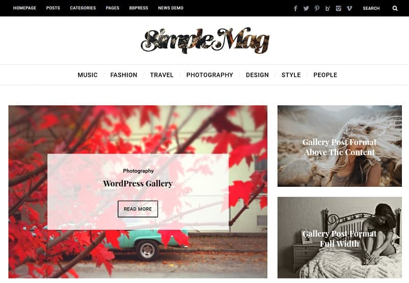 30+ Best Simple WordPress Themes of 2018 (UPDATED)