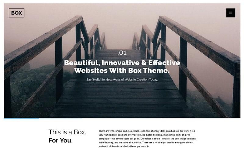 theme for creative agencies