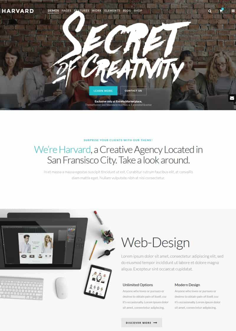 wp theme for businesses