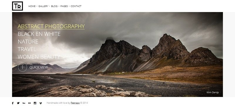 trend photography theme