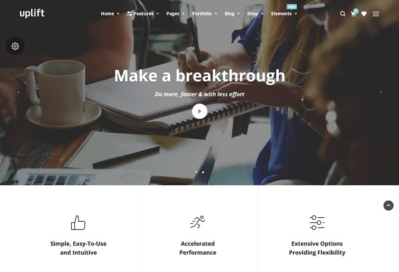 WP Theme for Business Website