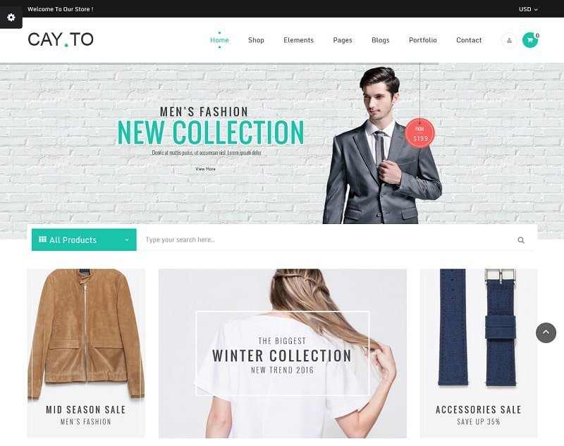 30 WordPress eCommerce Themes Best of 2017