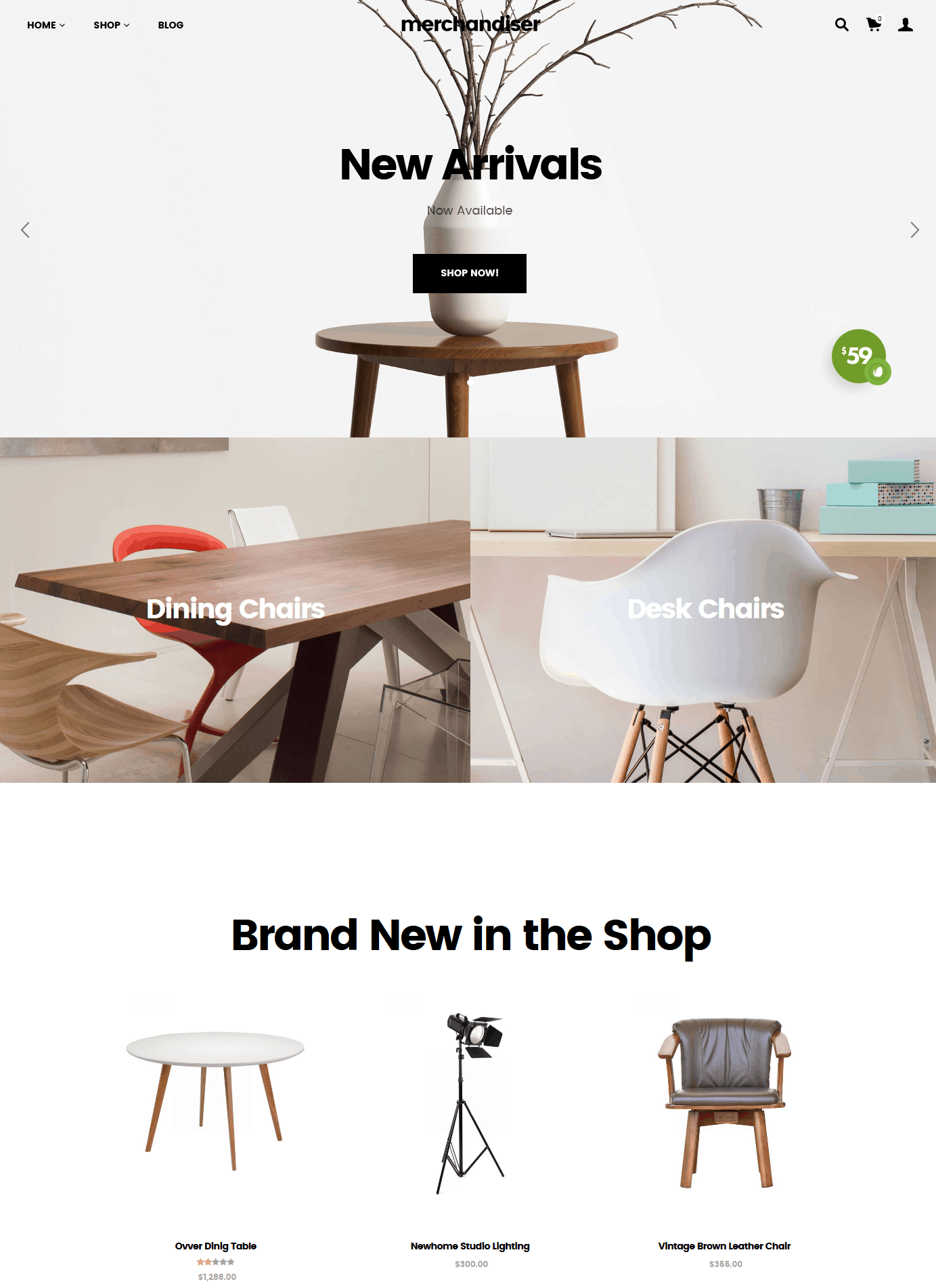 Merchandiser - Easy and Clean Ecommerce Theme