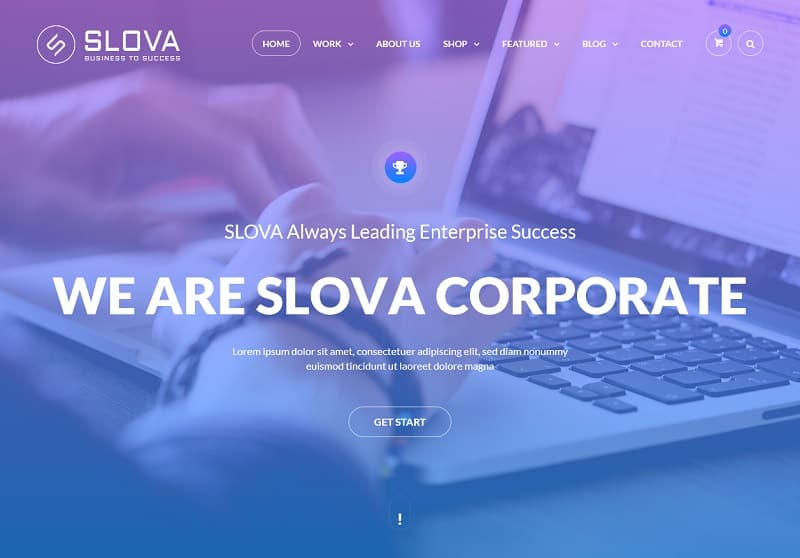 Slova – Leading Business Success Theme