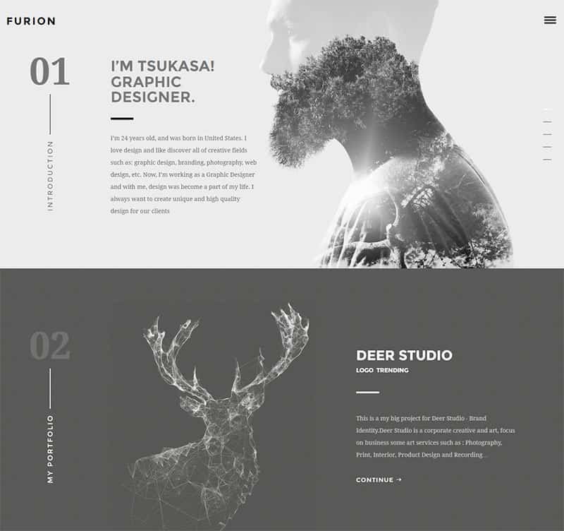 creative portfolio wordpress themes best of 2017